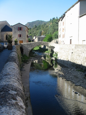 St Andre de Valborgne - our local village